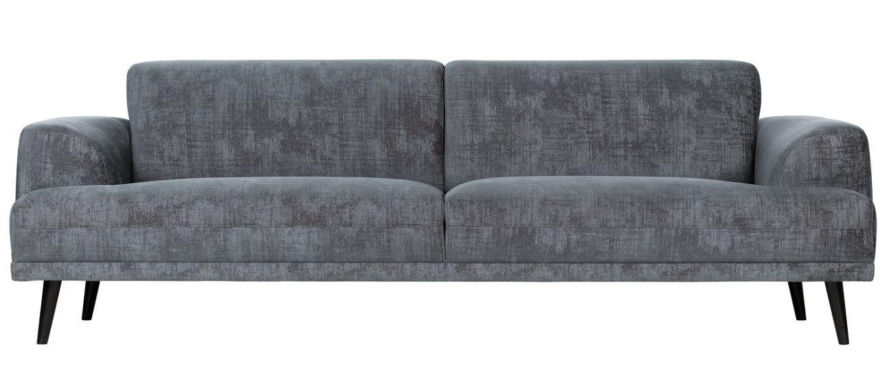 Brush 3-seter. Sofa - Skifergrå Velur