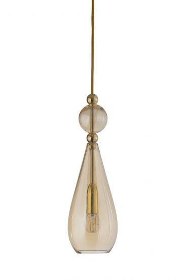 Ebb&Flow - Smykke pendel, Golden smoke