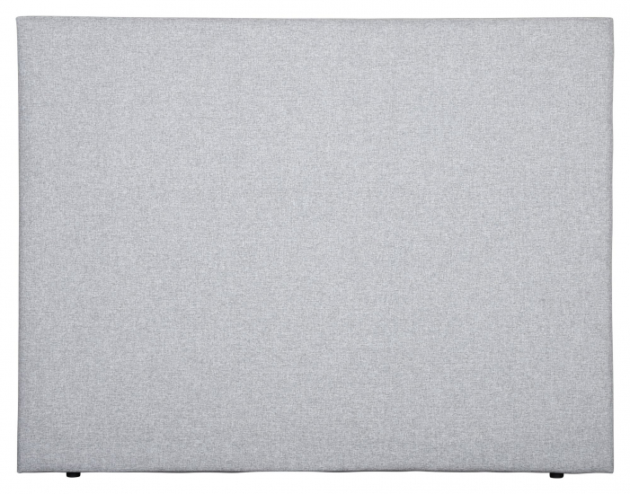 Alvik sengegavl, Lysegrå stoff, B:180