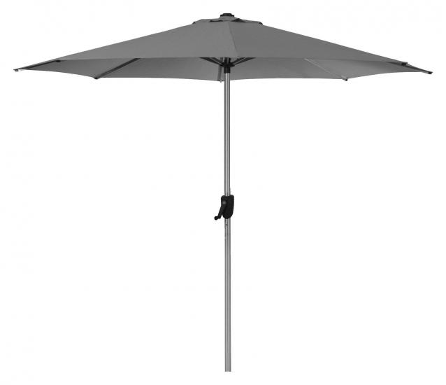 Cane-line Sunshade parasoll m/Sveiv, Ø3 m,  antracit