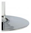 Ibiza Spisebord Ø110xH74 hvit MDF - Metal base