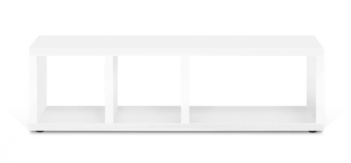Temahome Berlin Tvbord - Mat Hvid