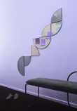 AYTM - Unity Speil i 1/2 cirkel - Sølv