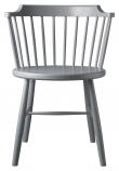 FDB Møbler J18 Spisebordstol - Bøk Lysegrå
