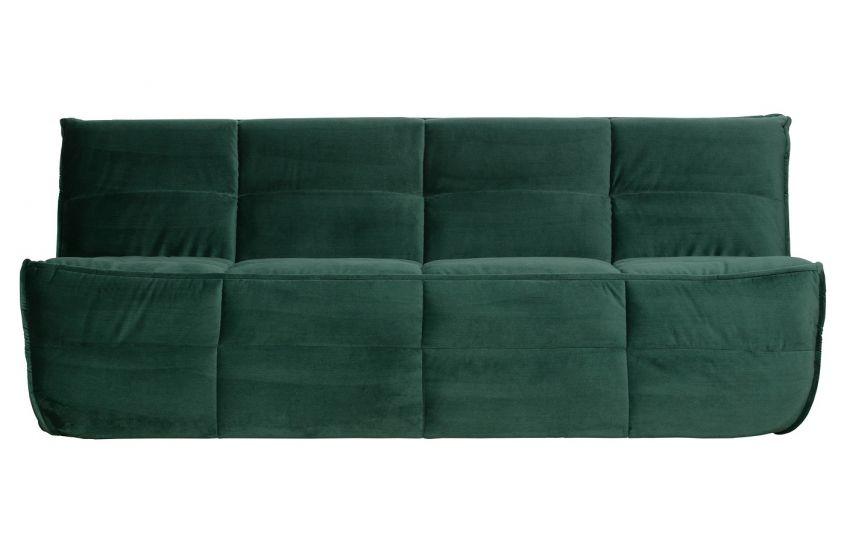 Cluster 3-seter. Sofa - Grønn Velur