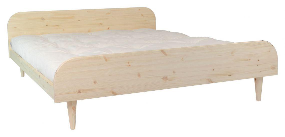 Twist Sengeramme Natur, Comfort Futon madrass, Offwhite, 140x200