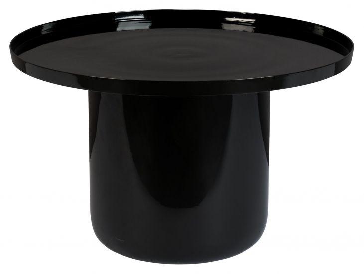 Zuiver Shiny Bomb Sofabord - Sort, Ø67