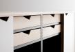 Andersen Furniture - S1 Skjenk - Eik olje - Hvite fronter
