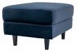 Bologna puff - Mørkeblå Velour, 52x68xH42
