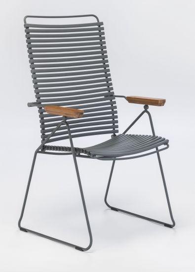 HOUE - CLICK Posisjonsstol - Mørk grå