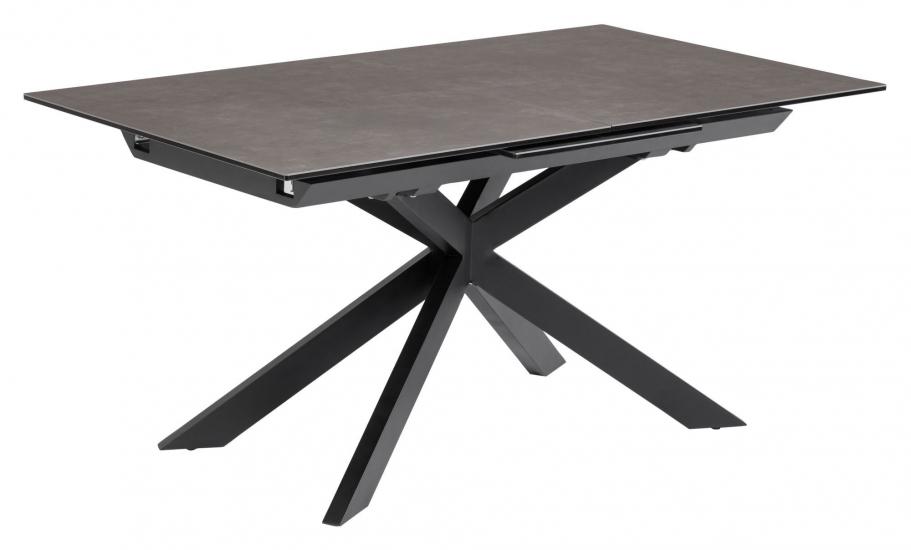 Kave Home Atminda Spisebord - Mørk Grå, 160/210x90