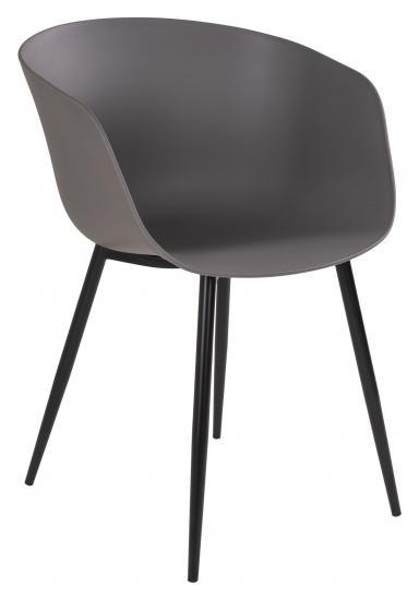 Roda Spisebordstol - Grå/Sort