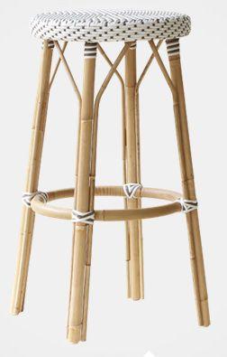 Sika-Design - Simone Barstol - Hvit - H:78