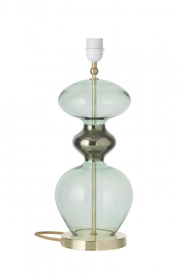 Ebb&Flow - Futura lampefot, forest grønn, Gull base