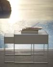 Cane-line - Chill-out Sidebord - Hvit Alu