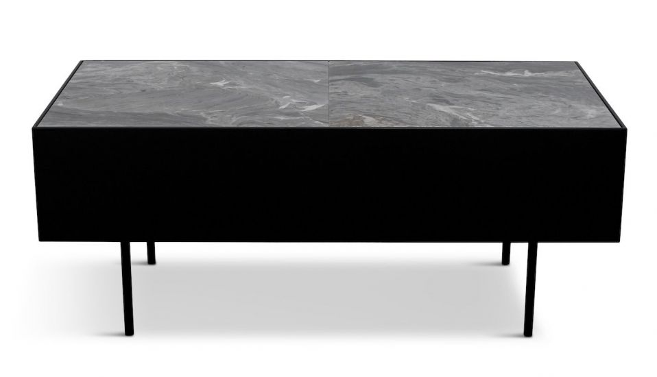 HANDVÄRK - Modular Accent Sofabord - Grå marmor