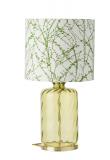 Ebb&Flow - Pillar lampefot, olive dimples, Gull base