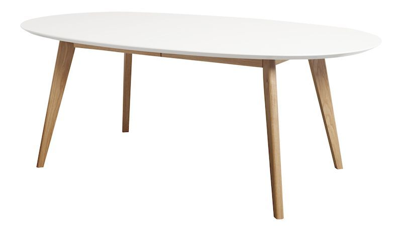 Andersen Furniture - DK10 Spisebord - Oval m. ben i lys tre
