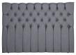 Särna sengegavl, Mørkegrå stoff, B:160
