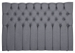 Särna sengegavl, Mørkegrå stoff, B:180
