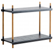 Cane-line - Frame Reolsystem m/2 hyller - Grå
