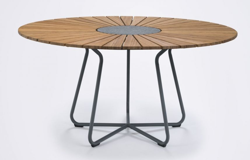HOUE - CIRCLE Hagebord Ø150 - Bambus/Alu