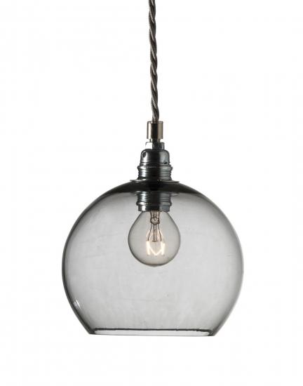 Ebb&Flow - Rowan pendel, smokey grå, Ø15,5