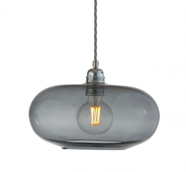 Ebb&Flow - Horizon pendel, Ø29cm smokey grå