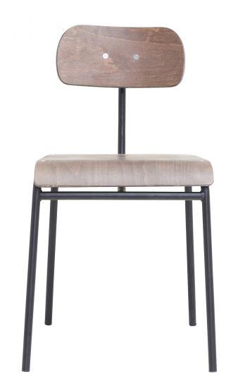 House Doctor School Spisebordstol, Mørkebrun