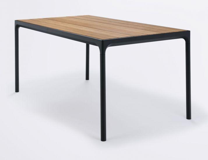 HOUE - FOUR Hagebord 160x90 - Bambus Topp