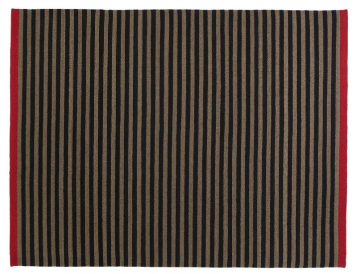 Fabula Living - Rosemary teppe Svart/Mauve - 170x240