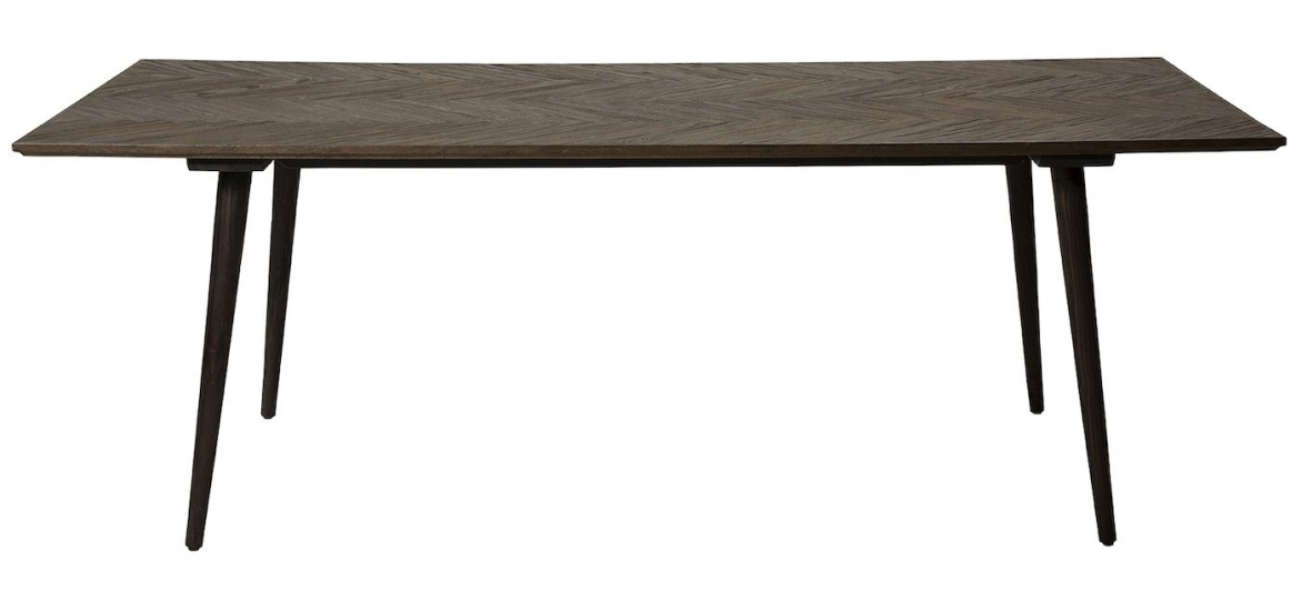Danform Bone Spisebord - Sort Elm, 220x100