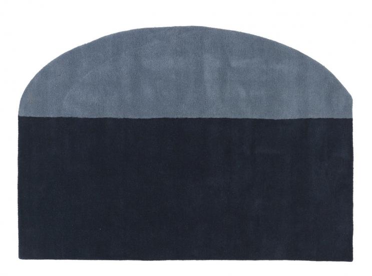 Spectre Tæppe - Blue Night, 200x140