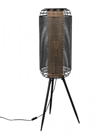 Dutchbone Archer Gulvlampe XL - Sort Jern