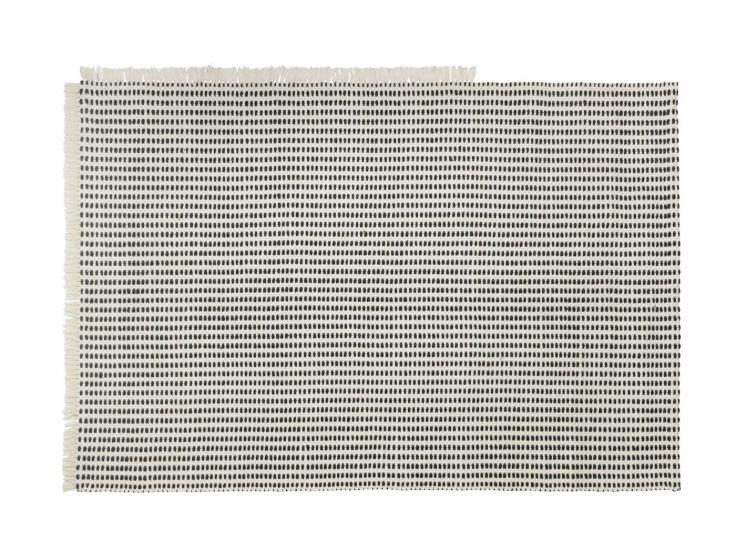 Ferm Living - Way Outdoor Tæppe 200x140 - Off White/Blå