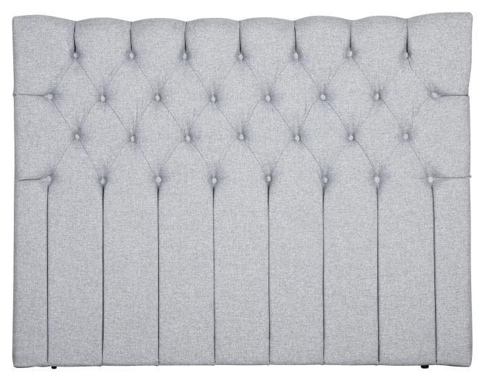 Särna sengegavl, Lysegrå stoff, B:180