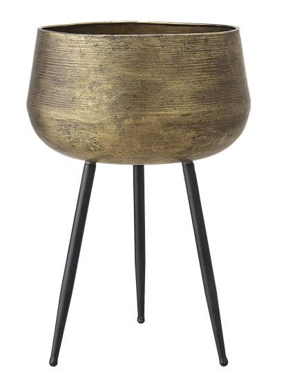 Bloomingville Blomsterstand - Messing/Sort