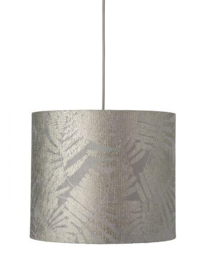 Ebb&Flow - Lampeskjerm, fern leaves wild, Sølv, Ø35