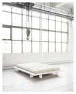 Japan Sengeramme Hvid, Latex Futon madrass, Offwhite, 160X200