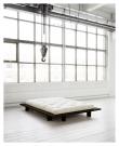 Japan Sengeramme Sort, Comfort Futon madrass, Offwhite, 160X200