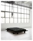 Japan Sengeramme Sort, Comfort Futon madrass, Sort, 140X200