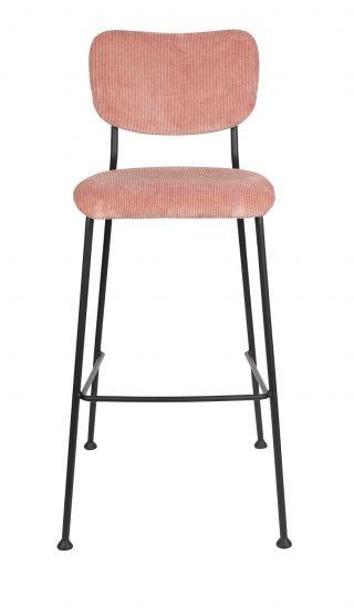 Zuiver Benson Barstol - Pink