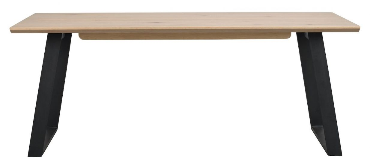 Melville Spisebord, Hvitvasket eikefinér
