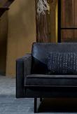 Rodeo Sofa m/høyrevendt chaise - Sort