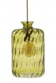 Ebb&Flow - Pillar Pendel, dimples, olive