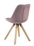 Fryd Spisebordsstol i støvet rosa - Eikebeiset