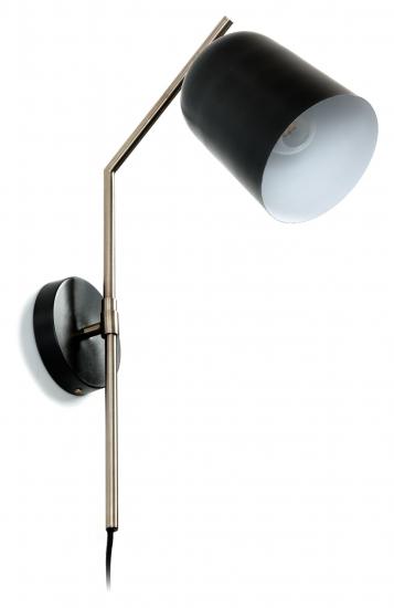 Kave Home Pryia Vegglampe - Sort
