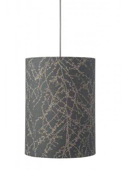 Ebb&Flow - Lampeskjerm, branches, grå/Sølv, Ø30