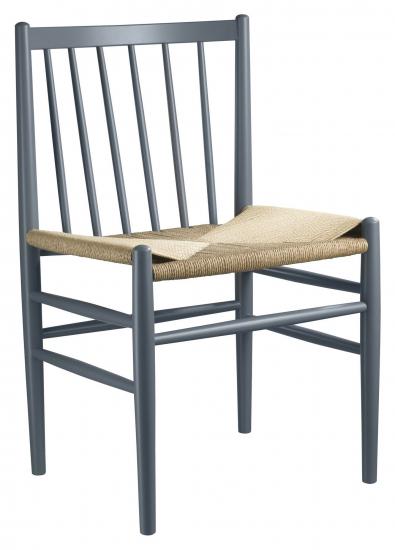 FDB Møbler J80 Spisebordstol - Bøk Mørkeblå