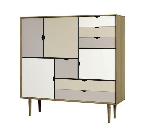 Andersen Furniture - S3 Høyskjenk - Eik olje - Farge